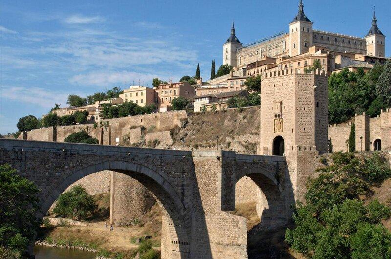 Zabytkowe miasto Toledo