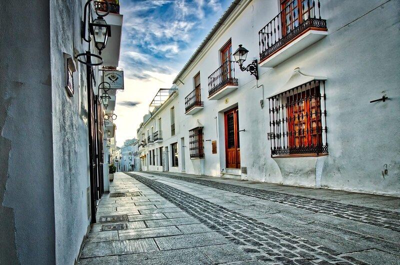 Hiszpańskie miasteczko Mijas