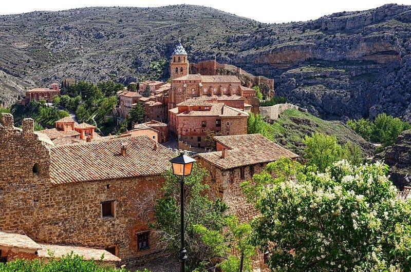 Hiszpańskie miasteczko Albarracin